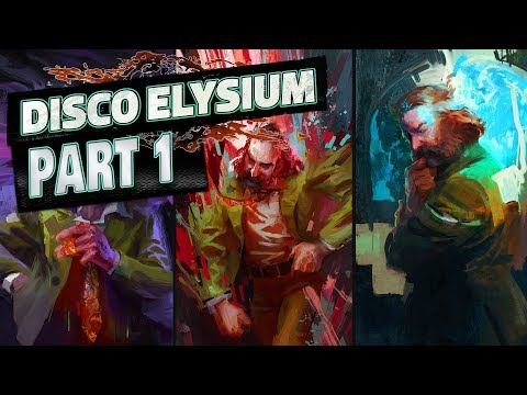 Disco Elysium - Walkthrough PART 1 // Kicking a Trash Can and Having a Heart Attack