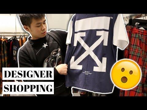 Shopping For Designer Clothes At Barneys (BALENCIAGA, GIVENCHY, OFF WHITE & MORE)