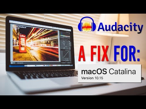 Audacity Audio Problem On MacOS Catalina