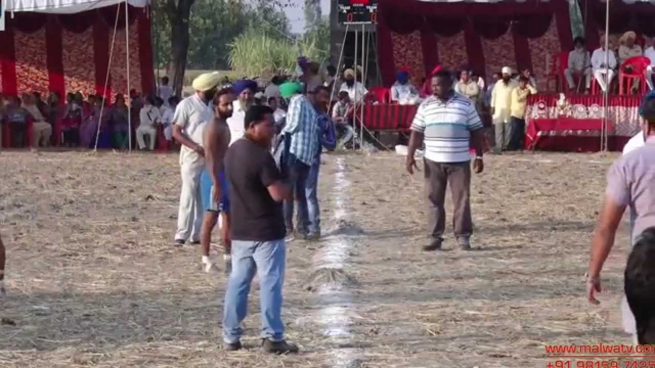 MANJPUR (Mukerian-Hoshairpur) KABADDI CUP-2014 || FULL HD || Part 3rd.
