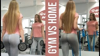 Gym vs Home Workout | Victoria Sprlo