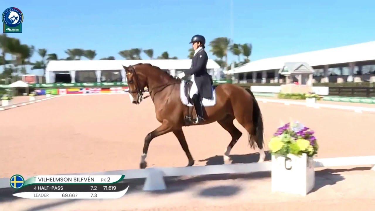 Tinne Vilhelmson-Silfven débute Devanto sur le Grand Prix en CDI