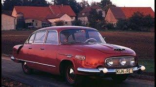 Очень редкий ретро автомобил (Tatra 603)