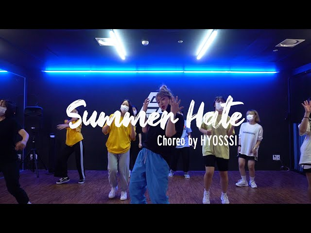 EZDANCE I 동탄점 I 이지댄스 I 지코 - Summer hate I GIRLS HIPHOP I CHOREO by HYOSSSI