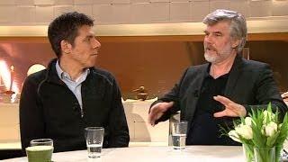 Jakob Eklund och Mikael Tornving om bioaktuella Johan Falk - Kodnamn Lisa - Nyhetsmorgon (TV4)