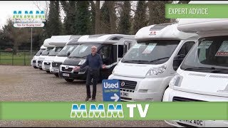 MMM TV expert advice - buying a used motorhome