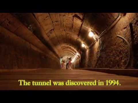 A tour of The Templar Tunnel, Acre (Acco, akko), Israel. Tour guide: Zahi Shaked
