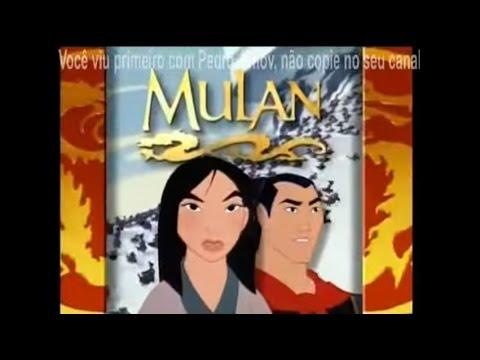 [CHAMADA] Sessão da Tarde - Mulan (26/01/07)