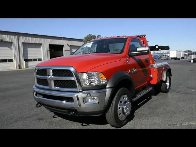 2018 Dodge Ram 4500 Truck & Jerr-Dan MPL-NG Stock#9481
