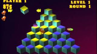 Q*BERT (PLAYSTATION - CLASSIC MODE 2D & 3D)