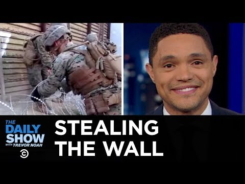 Mexicans Have Been Stealing Pieces of The Wall | The Daily Show thumbnail