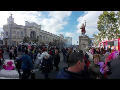 CHISINAU Live 360° Video (Republic of Moldova, Europe)