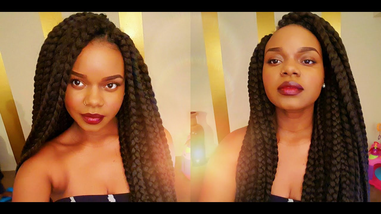 Janet Collection Crochet Box Braids : My First Crochet Braids: Janet Collection 3S Havana Mambo Box Braid 24 ...