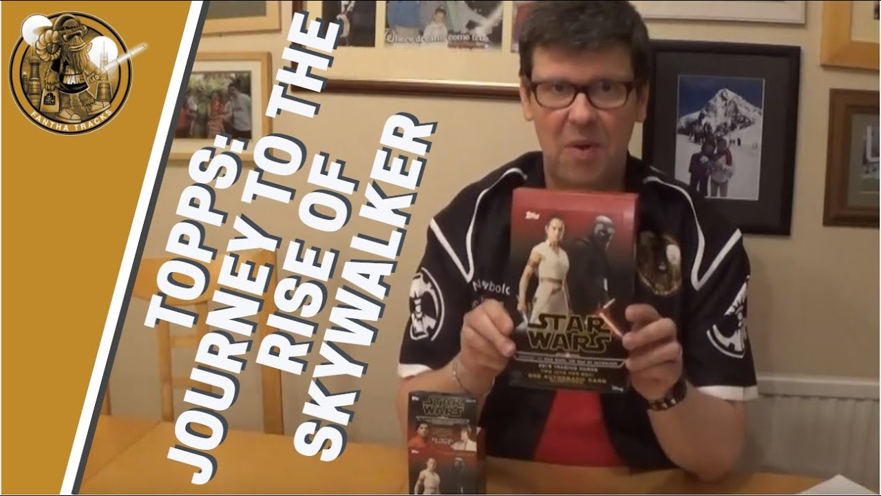 Topps Journey To The Rise Of Skywalker Box Break Triple Force Friday Youtube