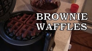 Win Or Fail Friday: Brownie Waffles!