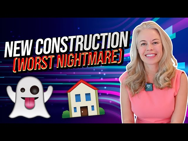 My Worst Nightmare With New Construction Homes - New Home Construction FAILS 👻