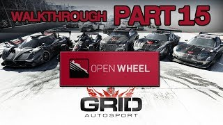 GRID Autosport Gameplay Walkthrough Part 15 - CAREER (PC,PS4,XBONE)