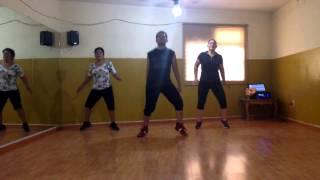3BallMTY ft. El Bebeto y América Sierra - Inténtalo (Coreografía Zumba)