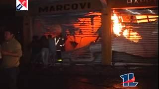 Incendio Centro Historico Quetzaltenango AFECTA A LA ECONOMIA