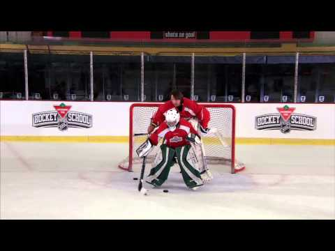 NHL Hockey Skills: Rebound Control From Canadian Tire Hockey School