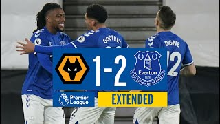 EXTENDED HIGHLIGHTS: WOLVES 1-2 EVERTON