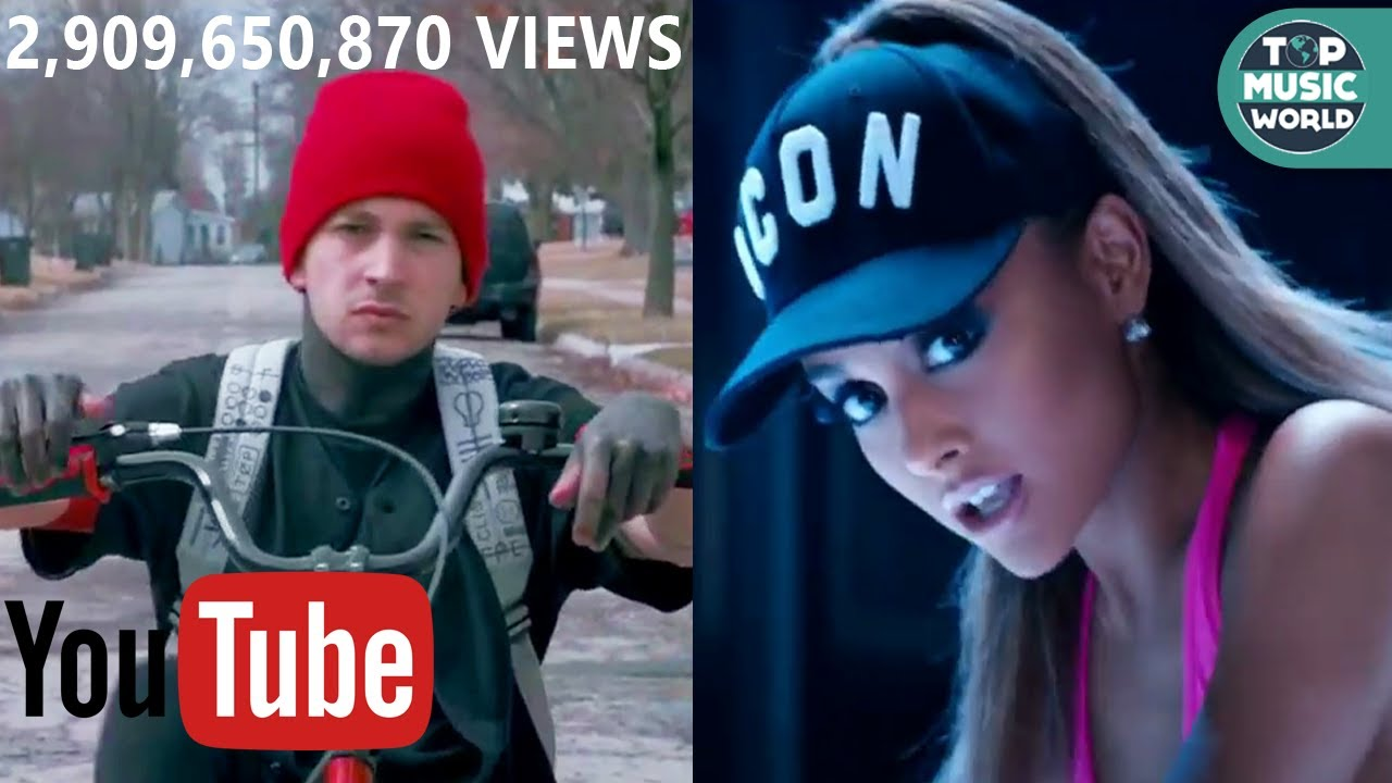 All Music Videos With 1 Billion Views On Youtube - Youtube