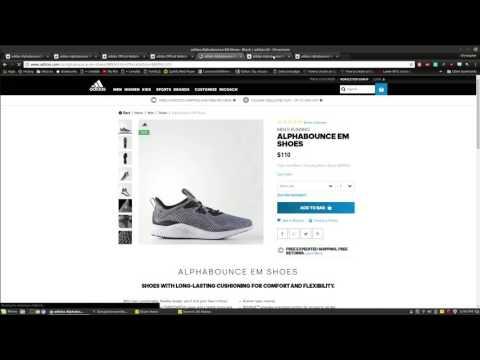 [Part 1] Creating a Sneaker Bot in Python - Generating URLs