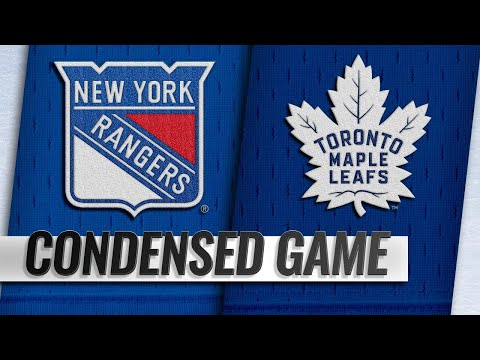 12/22/18 Condensed Game: Rangers @ Maple Leafs