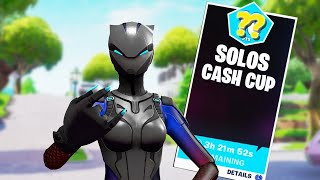 Solo Cash Cup! Ft. Dark Wild Card skin! (Season X) Fortnite Battle Royale!