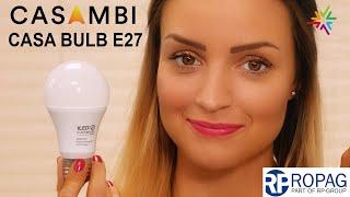 Die Casambi E27 CASA BULB von Ropag - LED-Birne mit Casambi Steuerung