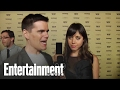 Parks and Recreation' Star Aubrey Plaza Flips Off The Camera | Entertainment Weekly