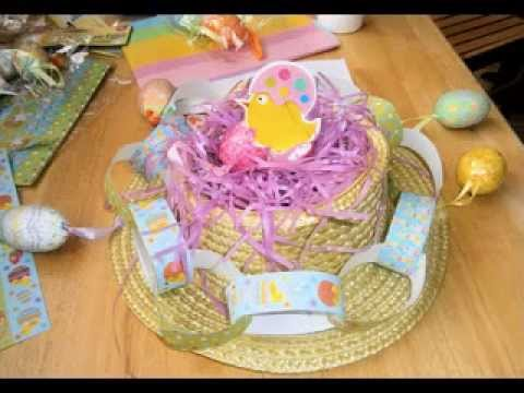 Easter Hat Decorations Ideas For Kids Youtube