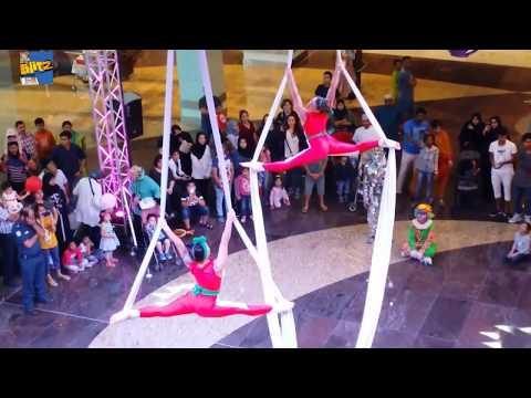 Aerobatic Performance Show at Muscat Grand Mall - MGM Oman
