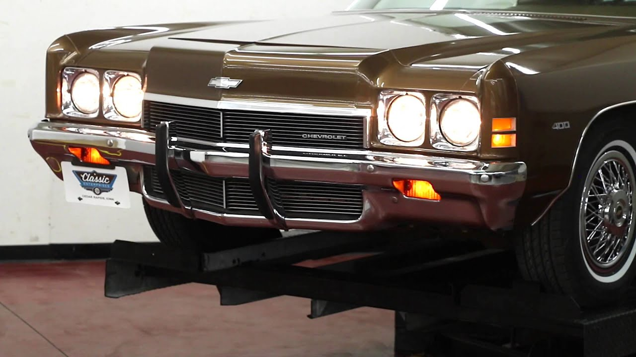 1972 chevy impala for sale startup walkaround youtube. Black Bedroom Furniture Sets. Home Design Ideas