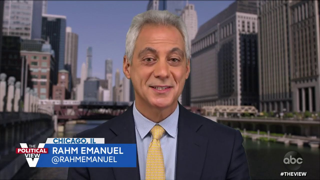 Rahm Emanuel Discusses Potential Strategies in Final Days of Election | The View
