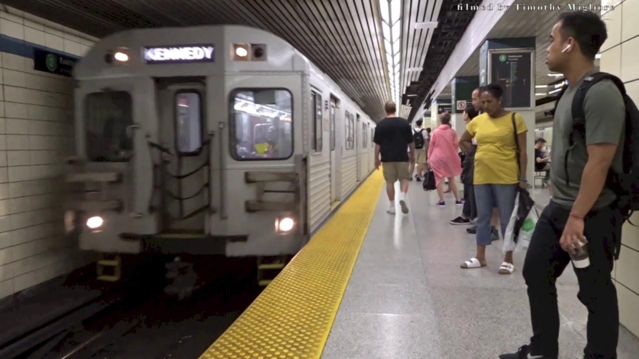 1 Train Toronto Subway Map Nyc.20 Minutes Of The Subway In Toronto Canada 2018