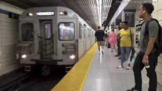 20 Minutes of the Subway in Toronto, Canada 2018.