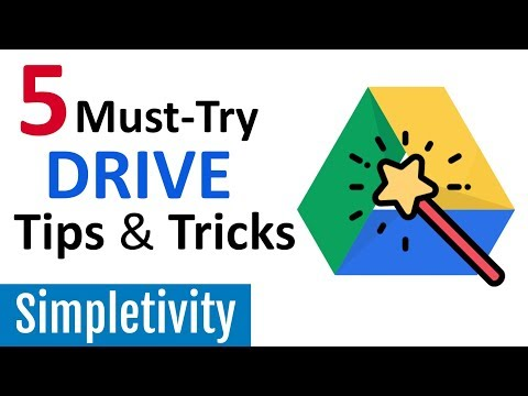 5 Must-Try Tips For Google Drive (2018 Tutorial)