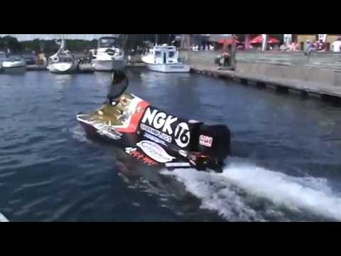 F1 Powerboat Race Valleyfield Quebec Day 1