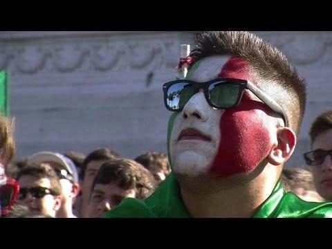 Mondial-2014: le match Italie-Costa Rica vu de Rome