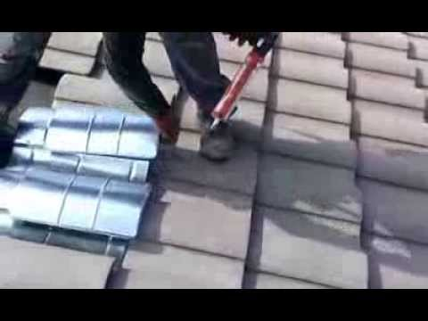 How To Install A Roof Vent On A Tile Roof O Hagin Vent