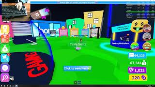 🔴Roblox🔴//🔥Playing Texting Simulator 💬🔥//⭐T3eXtIng G0d⭐//👍Sub Goal 780👍