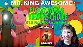 Mr. King Awesome Live Stream! PIGGY and Robux! 100 Likes= Friend Spot! Be subscribed! 3.5k= Robux