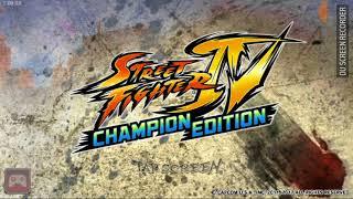STREET FIGHTER IV CHAMPION EDITION! Tomei um coro da Chun Li
