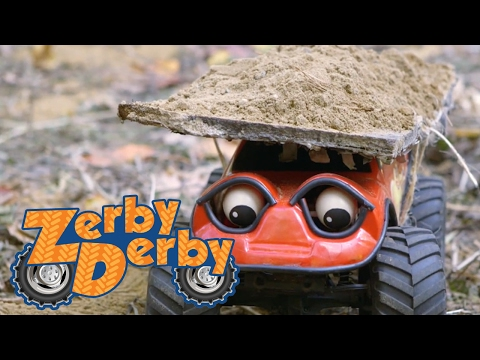 Zerby Derby  THE BIG MOVE  Zerby Derby Full Episodes Season 1  Kids Cars