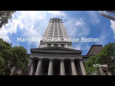 Marriott Hotel Custom House, Downtown Boston