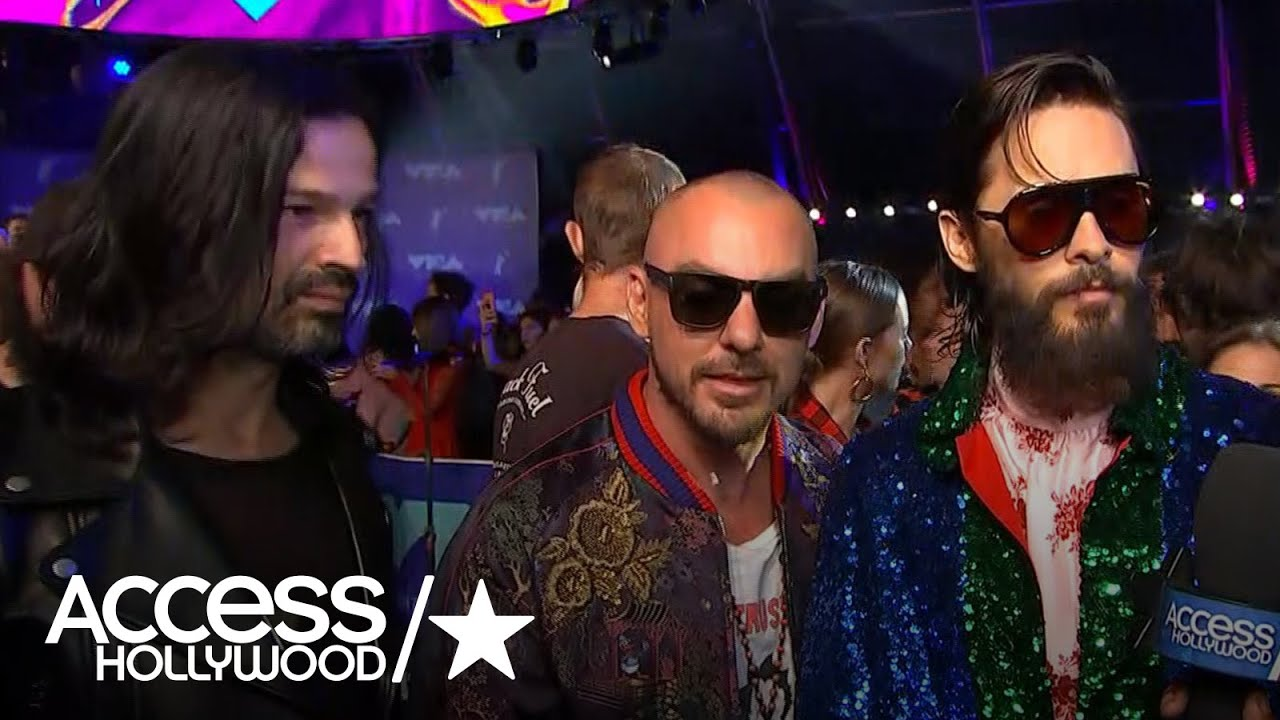 2017 mtv vmas jared leto dishes on 30 seconds to mars new single 2017 mtv vmas jared leto dishes on 30 seconds to mars new single m4hsunfo
