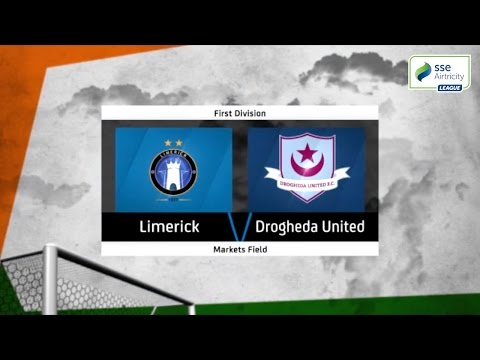 Highlights: Limerick FC v Drogheda United