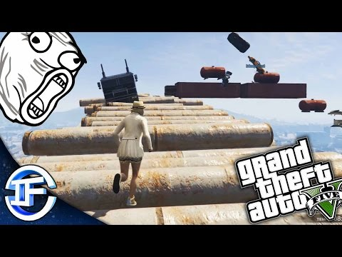 DEATH RUN!! - MEGA TURULADA! WIKKY SE CABREA!! XD - GAMEPLAY GTA 5 ONLINE