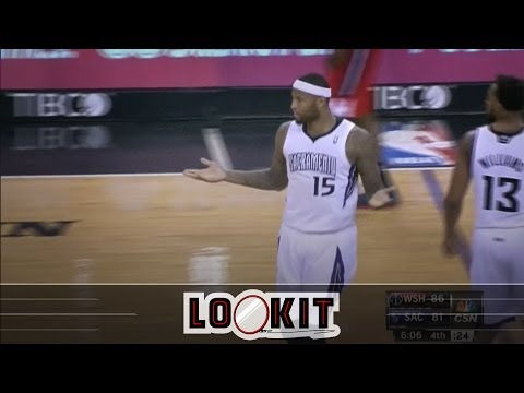 DeMarcus Cousins, Drew Gooden and the trash shrugging match of the century (#LOOKIT)